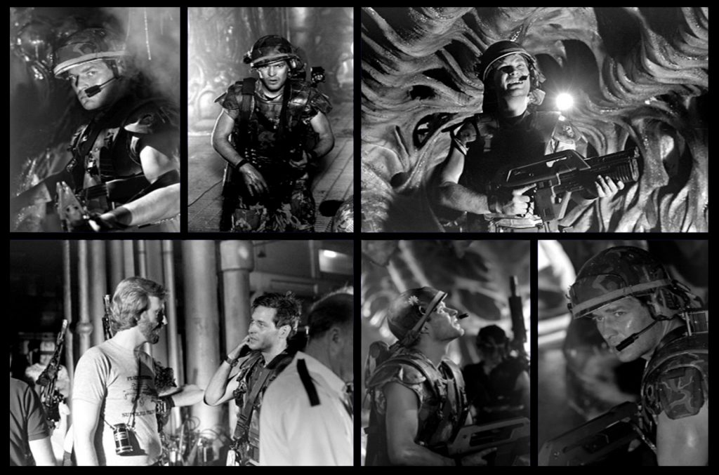 James Remar as Hicks in James Cameron's movie Aliens
