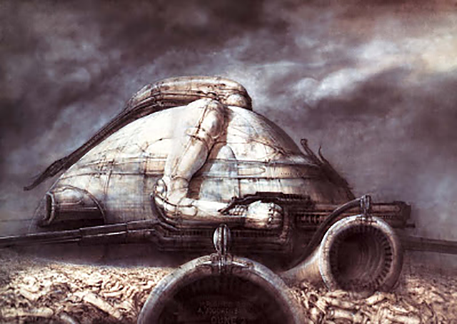A design for Jodorowsky's sci-fi movie Dune