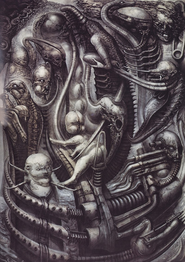 H.R. Giger's 'National Park', which provided visual cues for Ridley Scott's sci-fi movie Alien