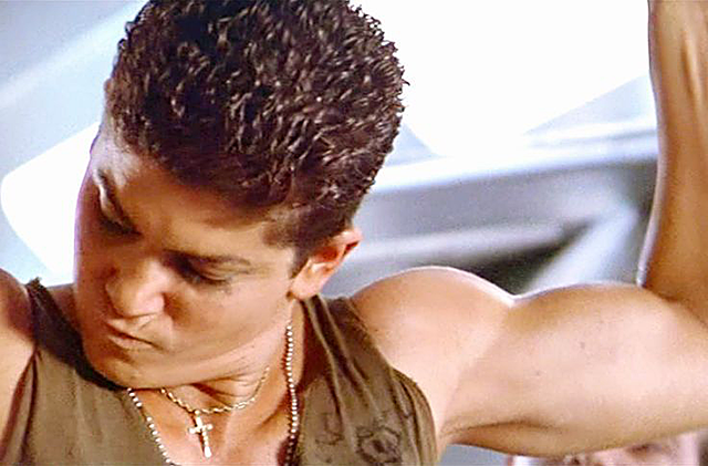 PFC Vasquez, as played by Jenette Goldstein in Aliens