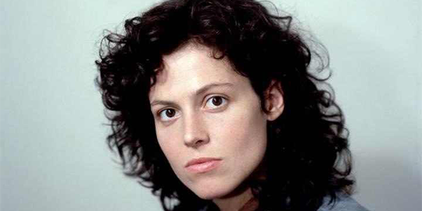 Sigourney Weaver as Ellen Riply in Ridley Scott's movie Alien