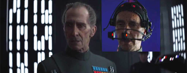 The creation of CGI Tarkin, from Rogue One: A Star Wars Story