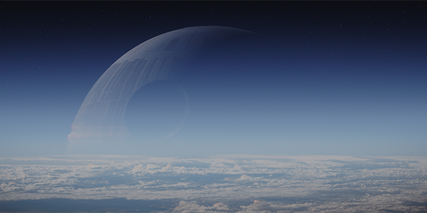 Death Star from Rogue One A Star Wars Story