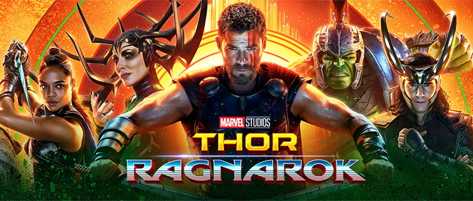 Poster for Marvel superhero movie Thor: Ragnarok