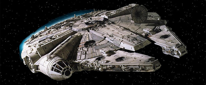 Millennium Falcon from Star Wars Solo Movie