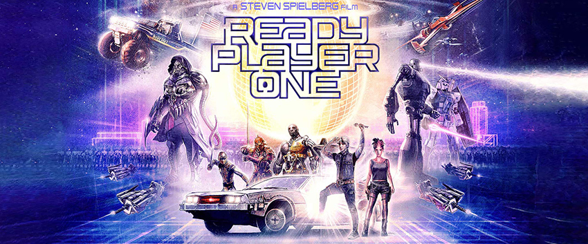 Poster for Steven Spielberg movie Ready Player One