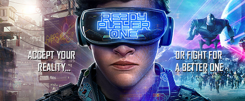Poster for the movie Ready Player One